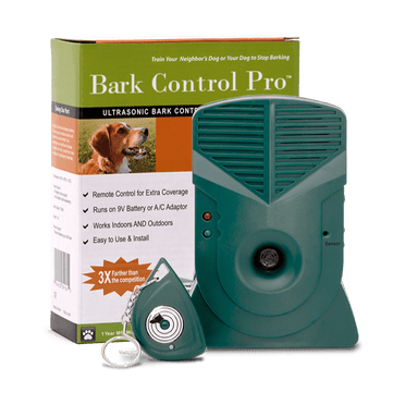 Bark Control Pro™ with included remote and box