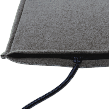 WarmPet™ Gray, Fleece Cover