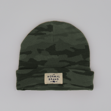The Normal Brand - Camo Knit Beanie