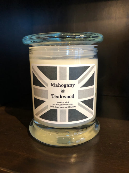 Mahogany & Teakwood Candles