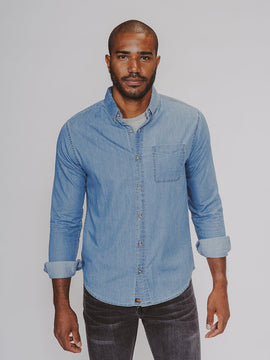 The Normal Brand - LS Chambray Shirt