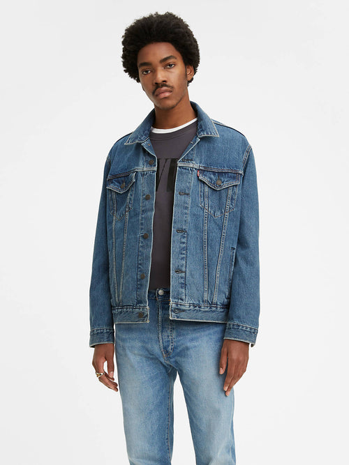 The Trucker Jacket Mayze Trucker