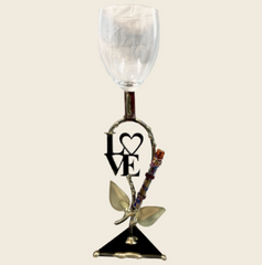 wedding vine kiddush cup