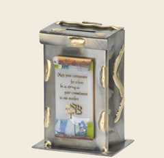 large bridal tzedakah box