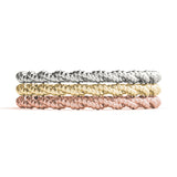 Twisted Stackable Rings