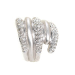 18kt White Gold Diamond Statement Ring