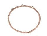14kt Rose Gold Stackable Diamond Bracelet