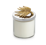 Michael aram gold palm leaf candle