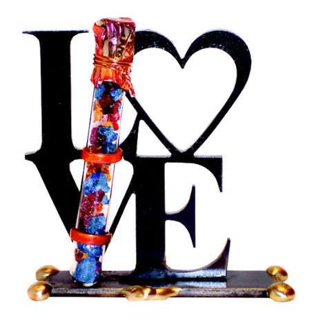 Gary Rosenthal small LOVE sculpture