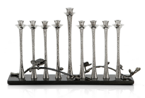 Michael aram black orchid menorah