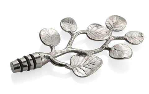 Michael aram botanical leaf wine stopper