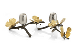 Michael aram butterfly ginkgo small candleholders