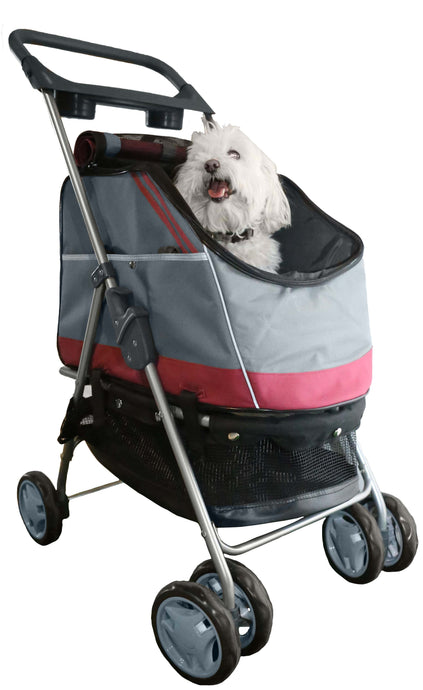 Outdoors 'All-Surface' Convertible All-In-One Pet Stroller Carrier And Car-Seat - US │ The World Of Giulio Pet Supplies & Products
