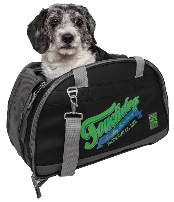 Touchdog Original Wick-Guard Water Resistant Fashion Pet Carrier - US │ The World Of Giulio Pet Supplies & Products