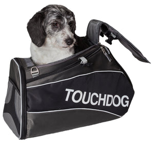 Touchdog Modern-Glide Airline Approved Water-Resistant Dog Carrier - US │ The World Of Giulio Pet Supplies & Products