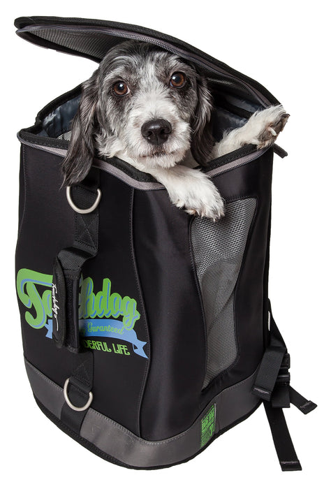 Touchdog Ultimate-Travel Airline Approved Backpack Carrying Water Resistant Pet Carrier - US │ The World Of Giulio Pet Supplies & Products