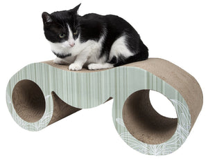 Pet Life Binocular Ultra Premium Modern Exquisite Contoured Cat Scratcher - US │ The World Of Giulio Pet Supplies & Products