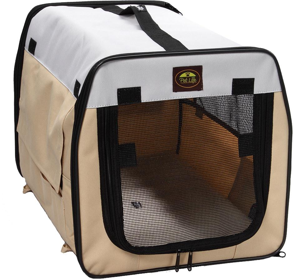 Folding Zippered Lightweight Easy Folding Pet Crate - US │ The World Of Giulio Pet Supplies & Products