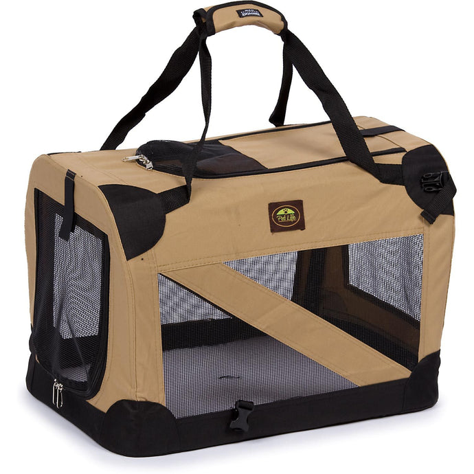 Folding Zippered 360° Vista View House Pet Crate - US │ The World Of Giulio Pet Supplies & Products