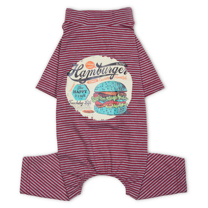 Touchdog Onesie Lightweight Breathable Printed Full Body Pet Dog T-Shirt Pajamas - US │ The World Of Giulio Pet Supplies & Products