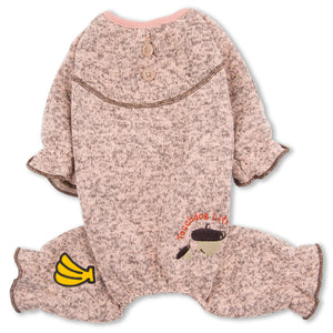 Touchdog Bark-Zz Designer Soft Cotton Full Body Thermal Dog Jumpsuit Pajamas - US │ The World Of Giulio Pet Supplies & Products