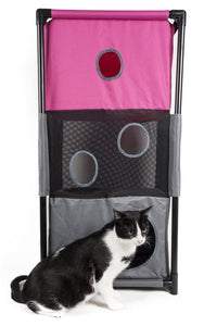 Sturdy Play-Active Collapsible Travel Pet Cat House Furniture - US │ The World Of Giulio Pet Supplies & Products