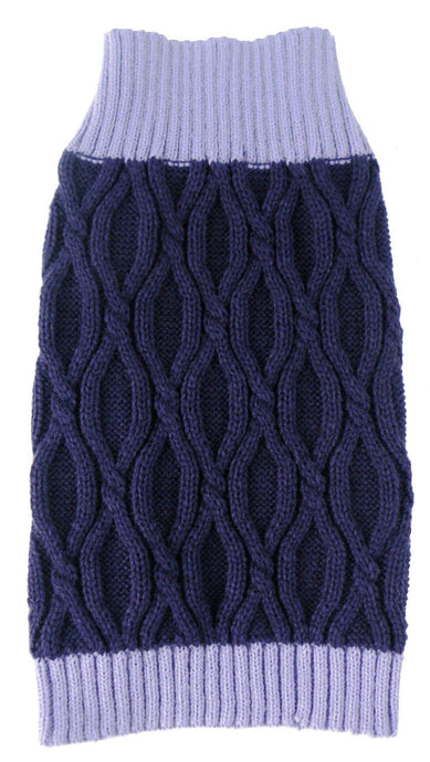Oval Weaved Heavy Knitted Fashion Designer Dog Sweater - US │ The World Of Giulio Pet Supplies & Products