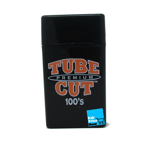 4 pack Gambler Tube Cut Cigarette Case