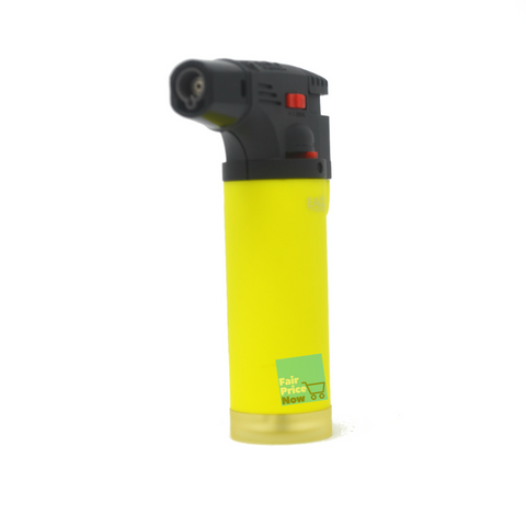 Eagle Jet Torch Gun Lighter Adjustable Flame Windproof Butane Refillable - Yellow