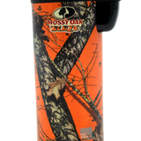 Eagle Mossy Blaze Oak 4in Torch Lighter with FREE Colibri butane can Orange