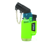NEON Eagle 4in Torch Refillable Windproof Jet Lighter Green