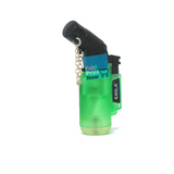 Angle Eagle Jet Flame Butane Torch Lighter Refillable Windproof Green
