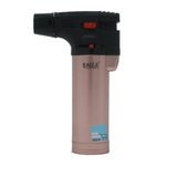 Eagle Iseries Jet Flame Butane Torch Lighter Refillable Windproof & butane (Pink Bronze)