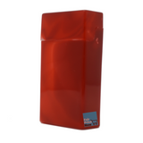 Red Top Flip Open Plastic Cigarette Case