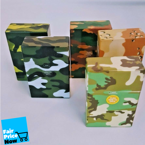 army colors Plastic Cigarette Case Pack