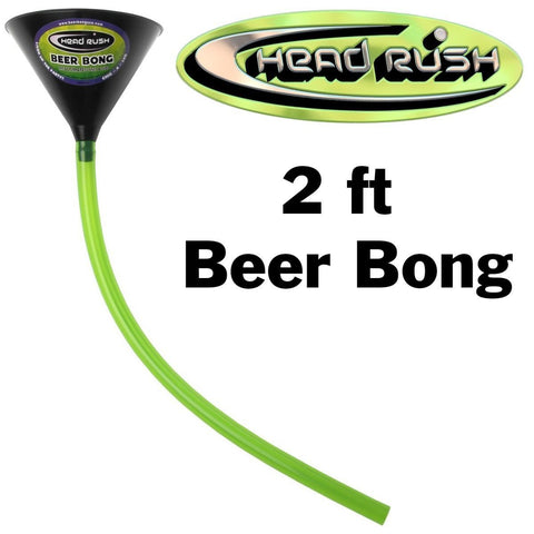 Head Rush 1 hose head 2ft beer bong funnel
