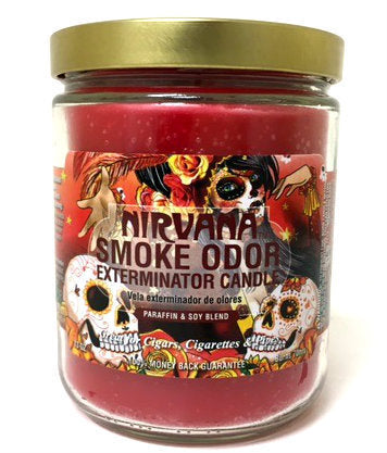 Smoke Odor Exterminator Candle - Nirvana - 13oz