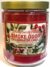 Smoke Odor Exterminator Candle - Hollyberry Hills-13oz