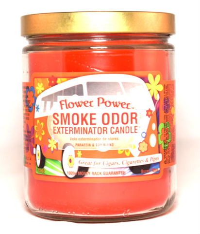Smoke Odor Exterminator Candle - Flower Power - 13oz