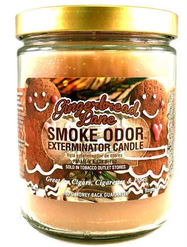 Smoke Odor Exterminator Candle - GingerBread Lane 13oz