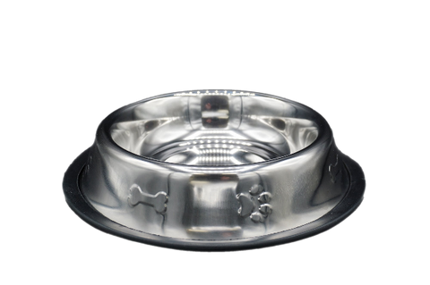 Stainless Steel Non Skid Pet Bowl 16oz