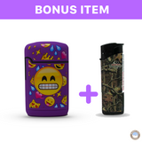 Purple Emoji Mini Torch Lighter