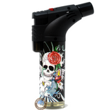 Techno Torch Lighter skull