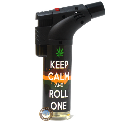 Techno Torch Lighter Keep Calm
