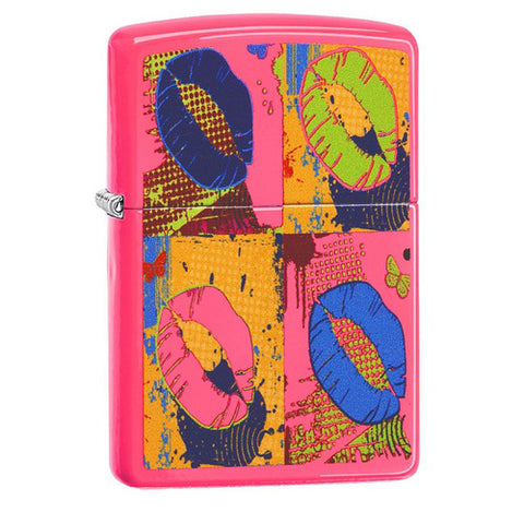 Zippo Pop Lips Lighter 11Z29086