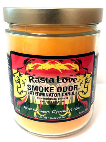 Smoke Odor Exterminator Candle - Rasta Love - 13oz
