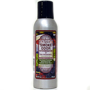 Smoke Odor Exterminator Spray- Mulberry Spice 7oz