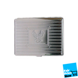 Metal Cigarette Case  Eagle In Small Square BOGO