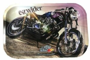 E-Z Wider Cafe Racer Rolling Tray 10x6