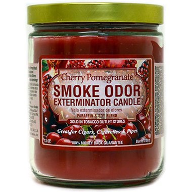 Smoke Odor Exterminator Candle - Cherry Pomegranate-13oz